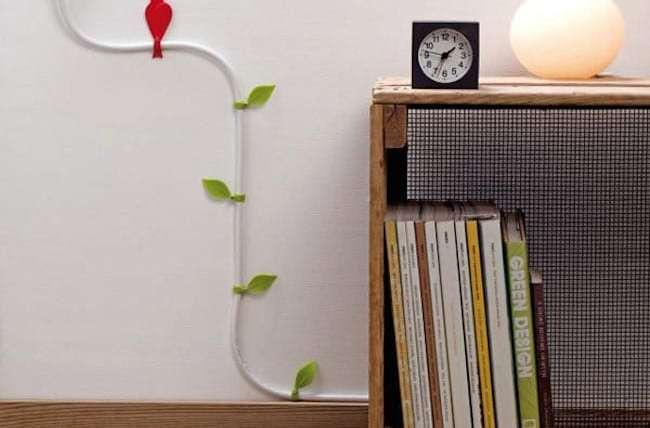 Taya's Home Decor Tips and Tricks: Disguising Pesky Power Cords