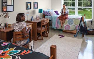 college dorm room organization