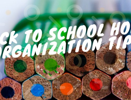 Back To School Home Organization Projects to Tackle NOW