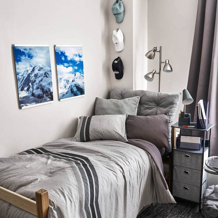 Dorm Room Decorating for Guys | Just Organized By Taya on Small Room Decor Ideas For Guys  id=73637