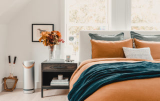 fall bedroom