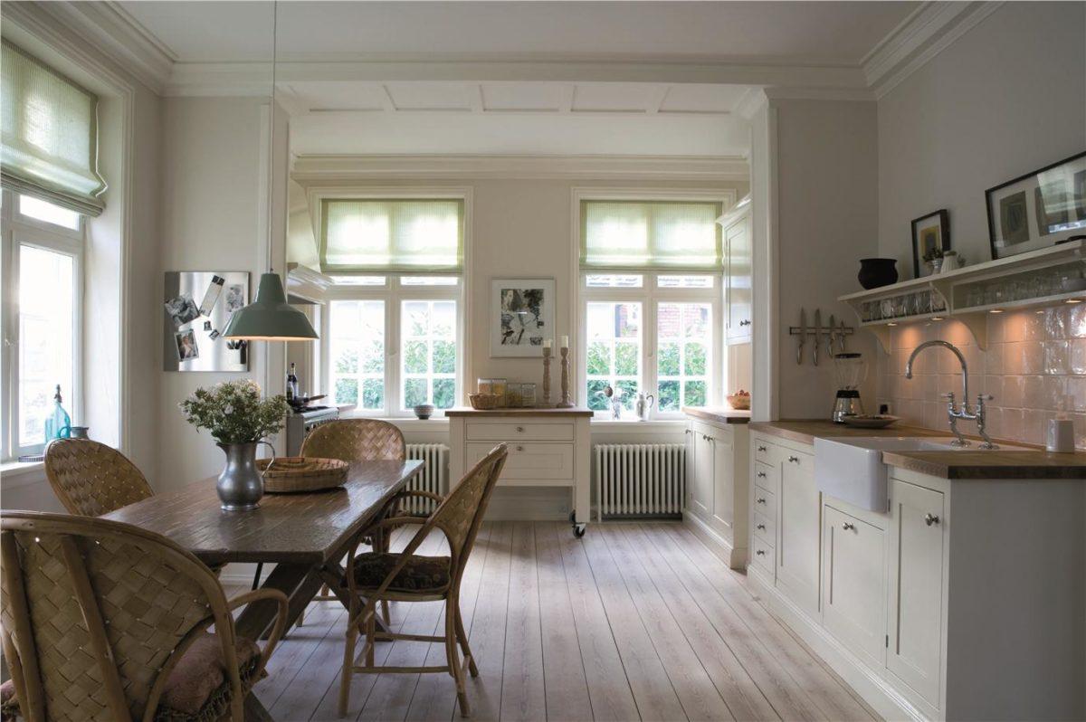 soft white kitchen