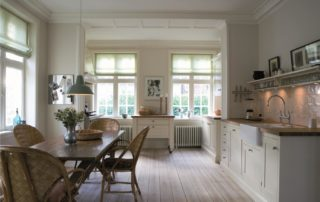 soft white kitchen