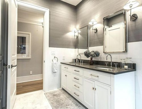 Lightning Fast Guest Bathroom Makeover For the Holidays