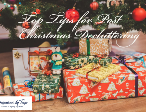 Top Tips for Post Christmas Decluttering