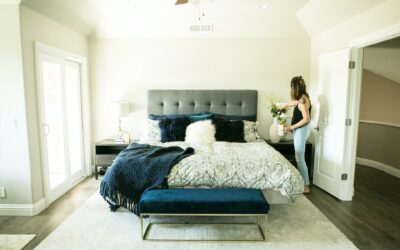 Creating an Organized Bedroom That Appeals to All Five Senses