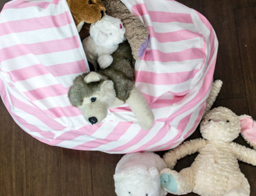 How to Make a Stuffed Animal Bean Bag Chair