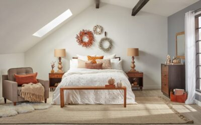 Top Tips For Easy Fall Bedroom Decor
