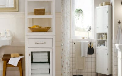 Cut Small Bathroom Clutter with Smart, Stylish Storage Solutions