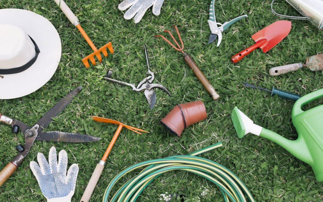 Top 5 Tips for Spring Garden Organization