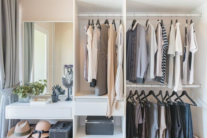 shared closet organization