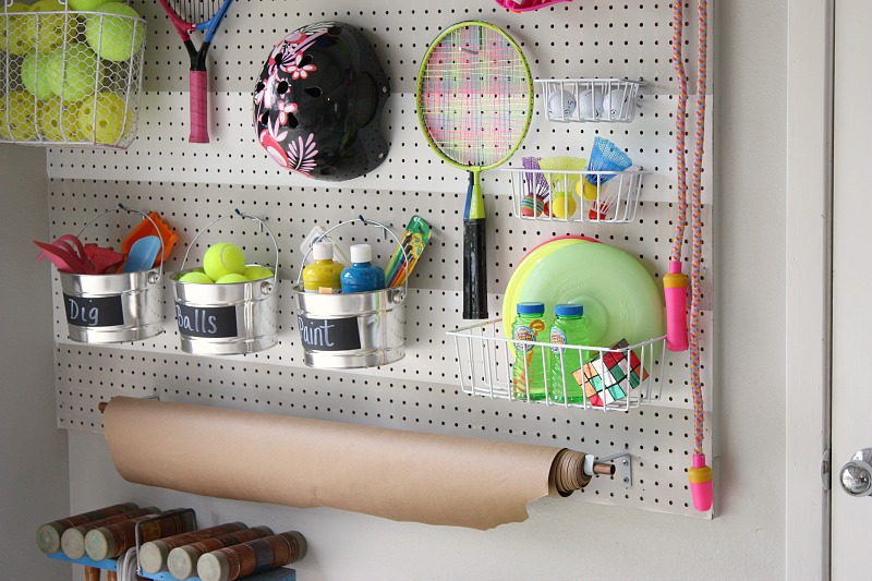 Terrific Tips for Outdoor Toy Organization