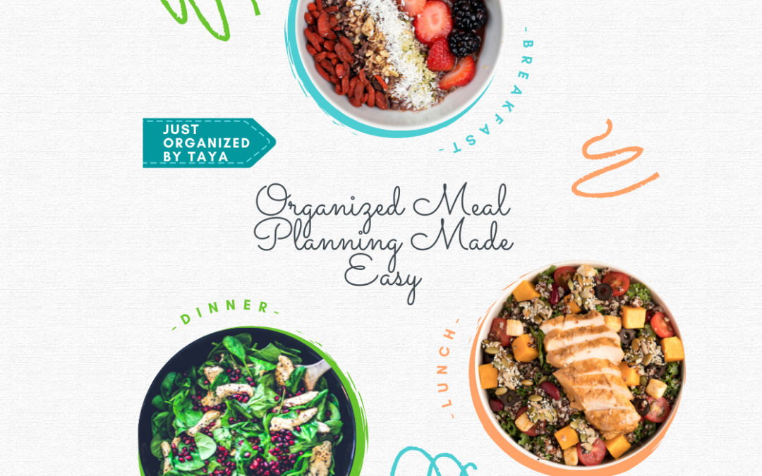 Organized Meal Planning Made Easy