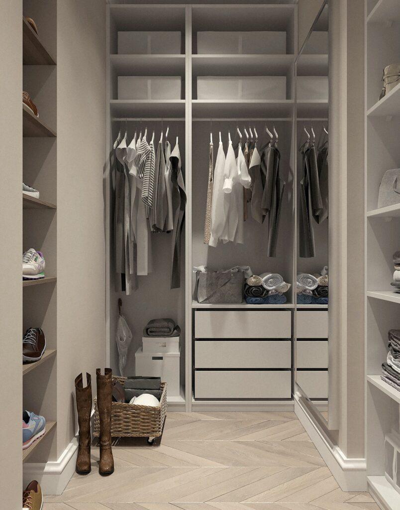Houston closet organization project